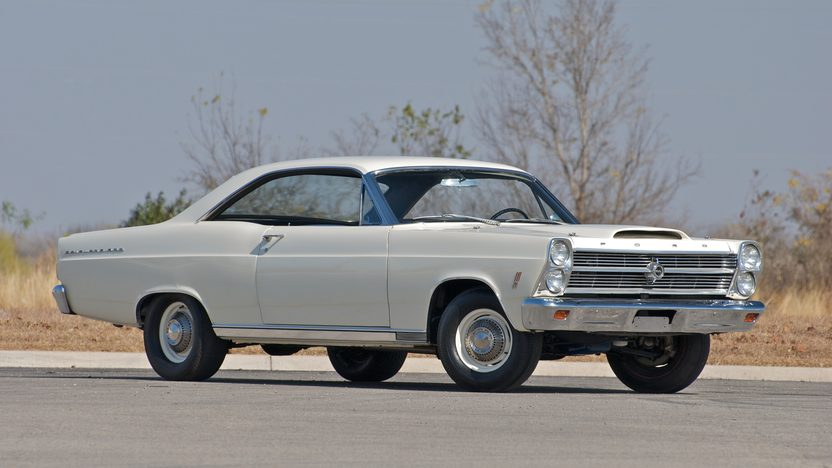 1966 Ford Fairlane 500 427/425 HP, 4-Speed presented as lot S129 at Indianapolis, IN 2011 - image3
