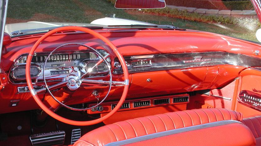 1958 Cadillac Eldorado Biarritz Convertible 365/335 HP presented as lot S177 at Indianapolis, IN 2011 - image4