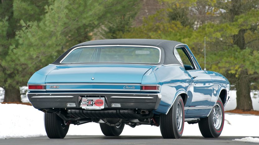 1968 Chevrolet Malibu L79 2-Door Hardtop 327/325 HP, 4-Speed presented as lot S191 at Indianapolis, IN 2011 - image3