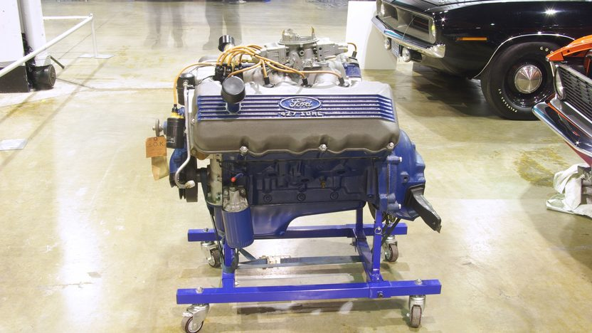1966 Ford Nos 427 SOHC Engine presented as lot S212 at Indianapolis, IN 2011 - image2