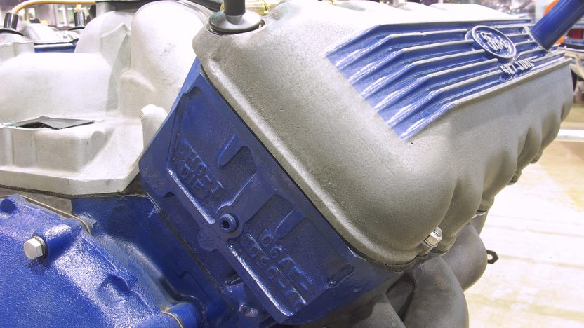 1966 Ford Nos 427 SOHC Engine presented as lot S212 at Indianapolis, IN 2011 - image3