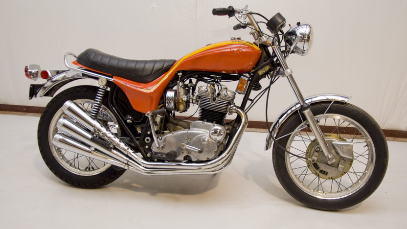 1973 Triumph X-75 Hurricane 750CC presented as lot U61 at Indianapolis, IN 2011 - image2