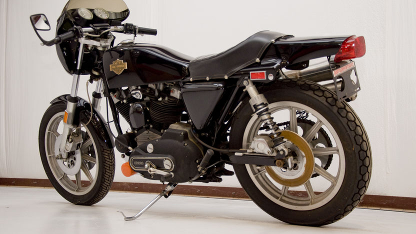1978 Harley-Davidson XLCR Cafe Racer 1000CC presented as lot U62 at Indianapolis, IN 2011 - image2