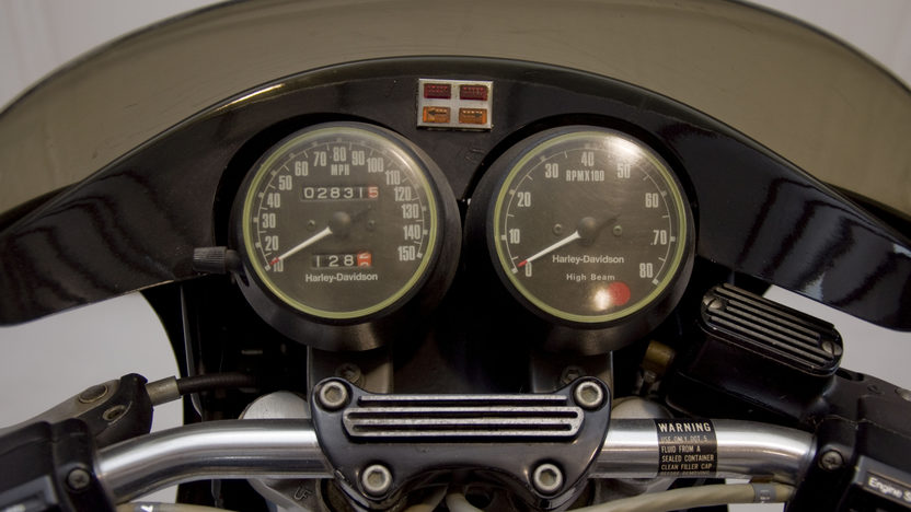 1978 Harley-Davidson XLCR Cafe Racer 1000CC presented as lot U62 at Indianapolis, IN 2011 - image3