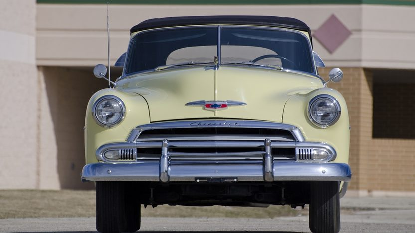 1951 Chevrolet Deluxe Convertible presented as lot W240.1 at Indianapolis, IN 2011 - image3
