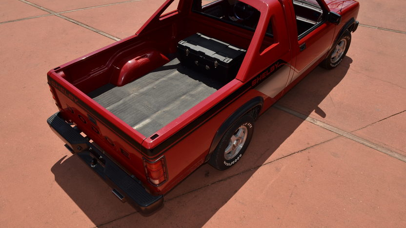 1989 Dodge Shelby Dakota Pickup presented as lot G276 at Indianapolis, IN 2012 - image10