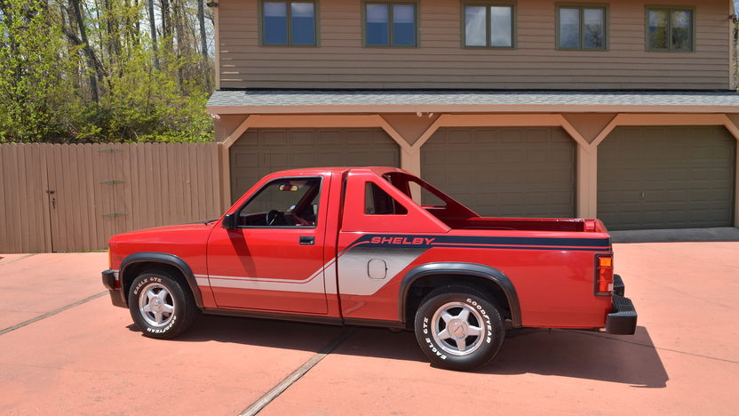 1989 Dodge Shelby Dakota Pickup presented as lot G276 at Indianapolis, IN 2012 - image2