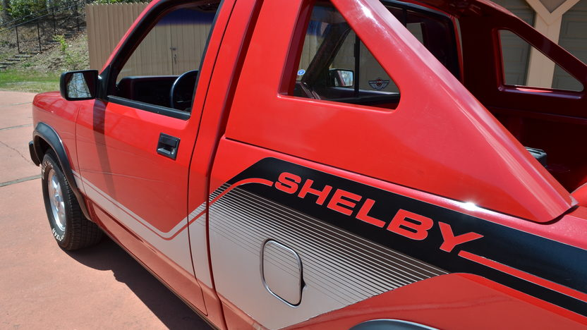 1989 Dodge Shelby Dakota Pickup presented as lot G276 at Indianapolis, IN 2012 - image3