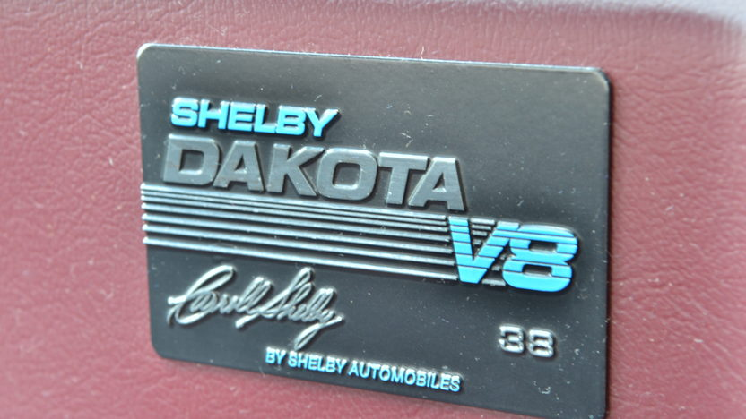 1989 Dodge Shelby Dakota Pickup presented as lot G276 at Indianapolis, IN 2012 - image9