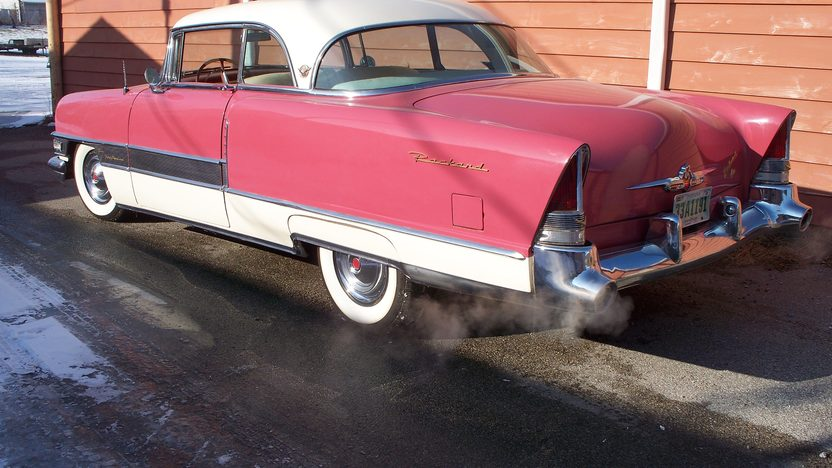 1955 Packard 400 Hardtop 352 CI, Automatic presented as lot W57 at Indianapolis, IN 2012 - image2