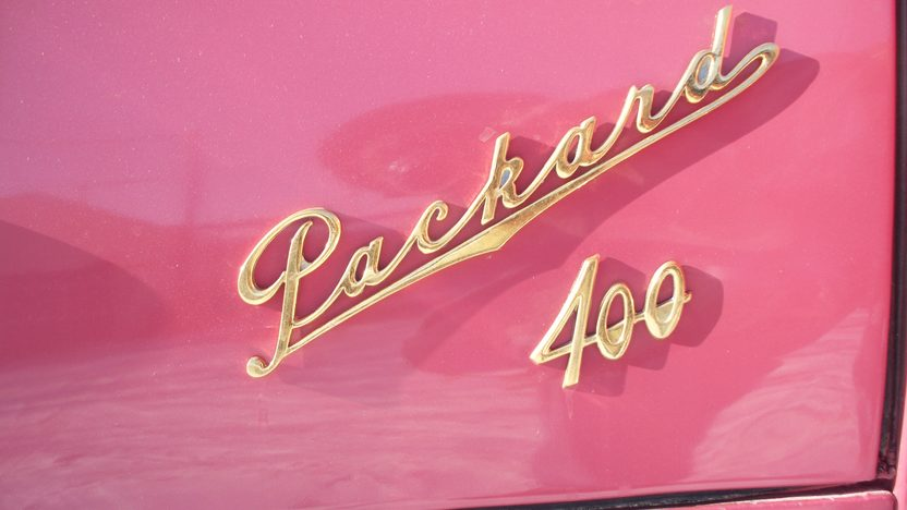 1955 Packard 400 Hardtop 352 CI, Automatic presented as lot W57 at Indianapolis, IN 2012 - image6