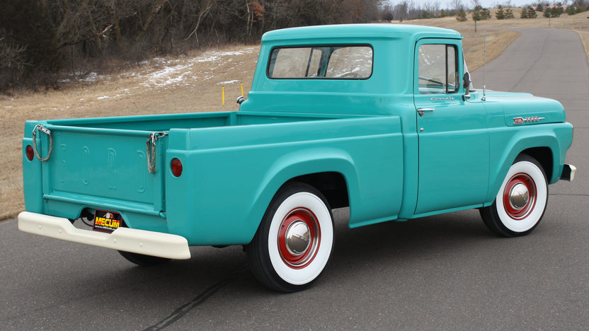 1960 Ford F100 Pickup | Mecum Indianapolis 2012 | W188