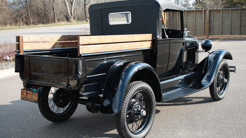1929 Ford Model A Roadster Pickup presented as lot W216 at Indianapolis, IN 2012 - image7
