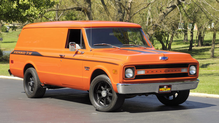 1970 Chevrolet Panel Delivery Truck Mecum Indianapolis
