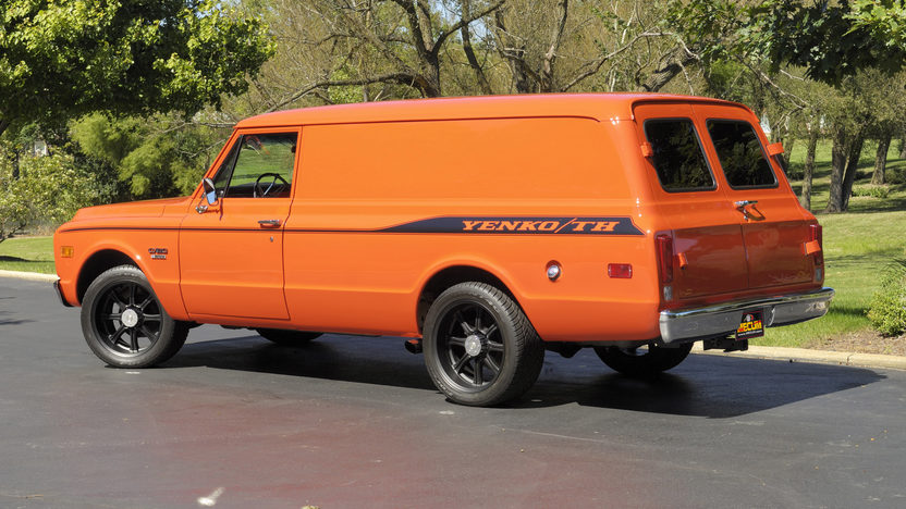 1970 Chevrolet Panel Delivery Truck 402/428 HP, Automatic presented as lot W287 at Indianapolis, IN 2012 - image2