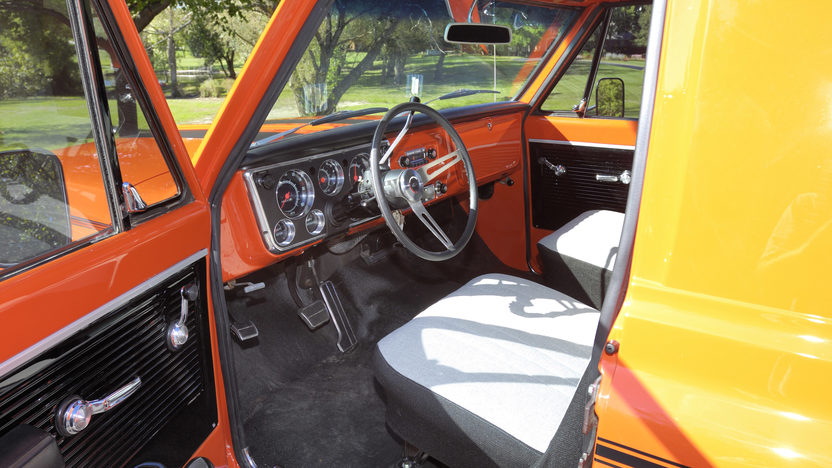 1970 Chevrolet Panel Delivery Truck 402/428 HP, Automatic presented as lot W287 at Indianapolis, IN 2012 - image3