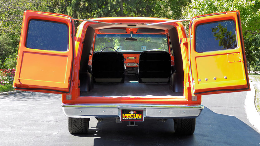 1970 Chevrolet Panel Delivery Truck 402/428 HP, Automatic presented as lot W287 at Indianapolis, IN 2012 - image6