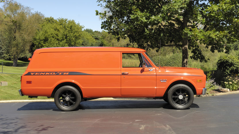 1970 Chevrolet Panel Delivery Truck 402/428 HP, Automatic presented as lot W287 at Indianapolis, IN 2012 - image8