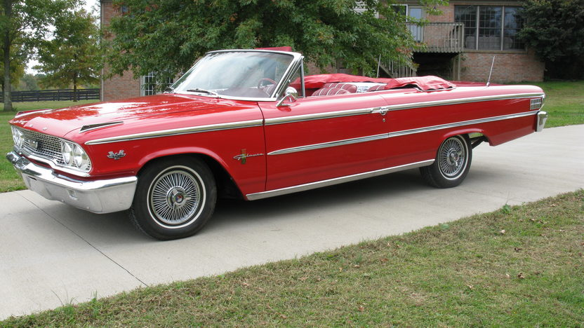 1963 Ford Galaxie 500 Xl Convertible Mecum Indianapolis