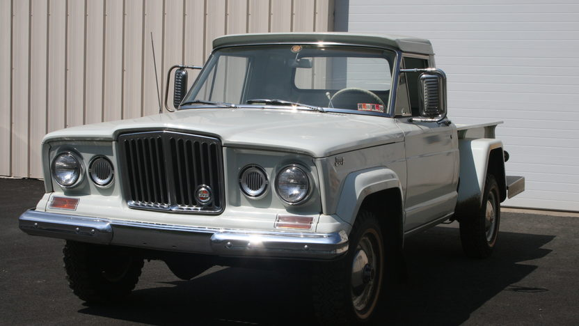 1965 Jeep Gladiator Thriftside 4x4 230 CI, 3-Speed presented as lot T7 at Indianapolis, IN 2012 - image8