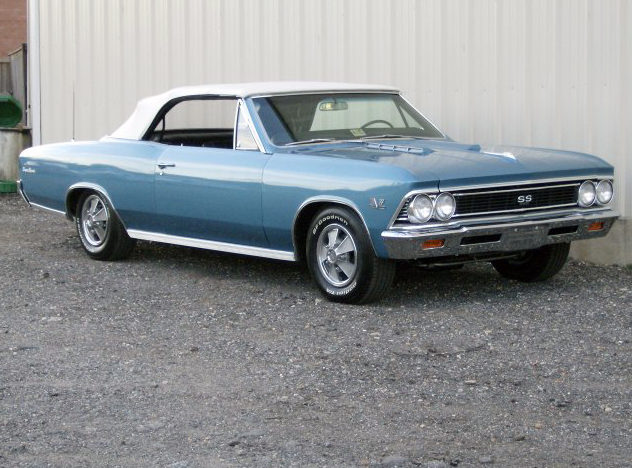 1966 Chevrolet Chevelle SS Convertible 396/360 HP, 4-Speed presented as lot F175 at Indianapolis, IN 2012 - image5