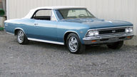 1966 Chevrolet Chevelle SS Convertible 396/360 HP, 4-Speed presented as lot F175 at Indianapolis, IN 2012 - thumbail image5