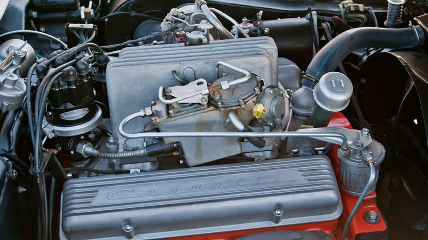 1957 Chevrolet Corvette Factory Airbox 283/283 HP, 4-Speed presented as lot S160 at Indianapolis, IN 2012 - image8
