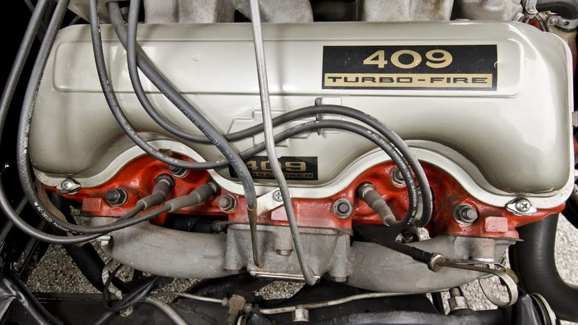 1962 Chevrolet Bel Air Lightweight Bubble Top 409/409 HP, 4-Speed presented as lot F324 at Indianapolis, IN 2012 - image10