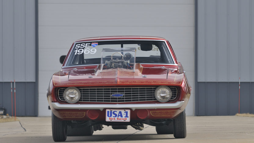 1969 Chevrolet Camaro ZL1 The First ZL1 Produced presented as lot F330 at Indianapolis, IN 2012 - image10