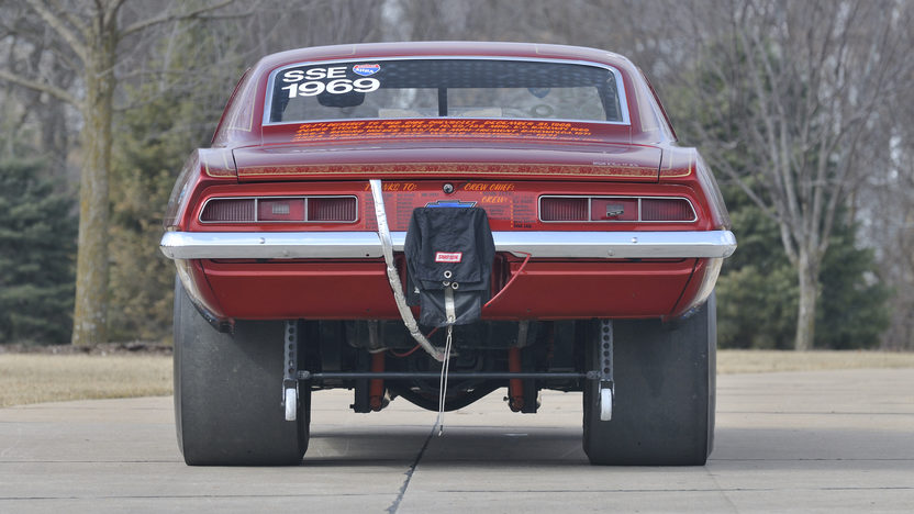 1969 Chevrolet Camaro ZL1 The First ZL1 Produced presented as lot F330 at Indianapolis, IN 2012 - image2
