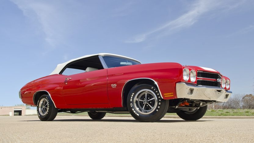 1970 Chevrolet Chevelle LS6 Convertible 454/450 HP, Automatic presented as lot F340 at Indianapolis, IN 2012 - image10