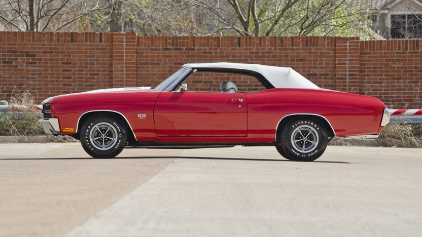 1970 Chevrolet Chevelle LS6 Convertible 454/450 HP, Automatic presented as lot F340 at Indianapolis, IN 2012 - image8
