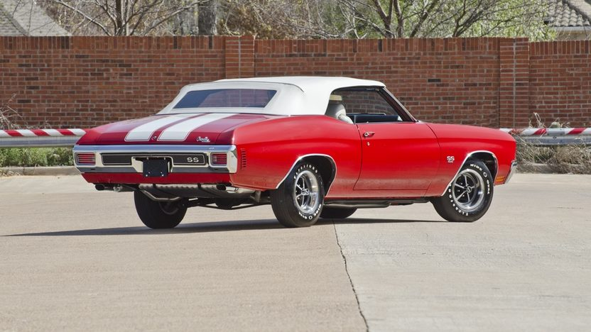 1970 Chevrolet Chevelle LS6 Convertible 454/450 HP, Automatic presented as lot F340 at Indianapolis, IN 2012 - image9