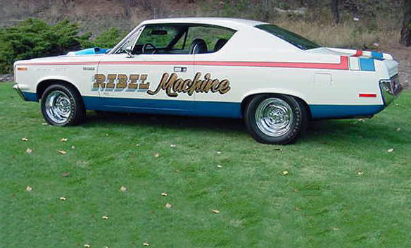 1970 AMC Rebel Machine 390 CI, 4-Speed presented as lot F290 at Indianapolis, IN 2012 - image2