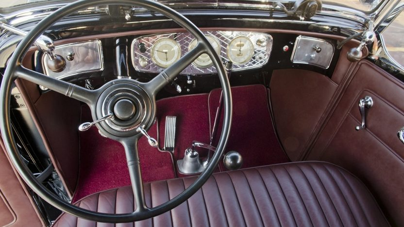 1933 Lincoln KB Phaeton 2010 Meadow Brook 1st in Class presented as lot S132 at Indianapolis, IN 2012 - image3