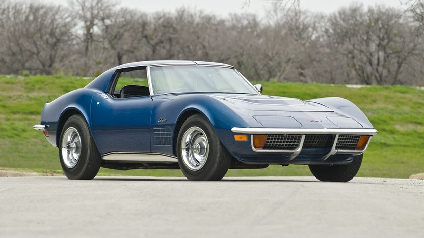 1972 Chevrolet Corvette ZR1 Coupe 350/255 HP, 4-Speed presented as lot S159 at Indianapolis, IN 2012 - image12