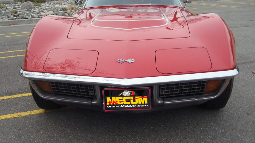 1972 Chevrolet Corvette LT1 Convertible with Factory Air presented as lot S177 at Indianapolis, IN 2012 - image4