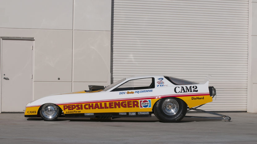 1982 Pontiac Trans Am Funny Car Don Prudhomme's Pepsi Challenger presented as lot S182 at Indianapolis, IN 2012 - image2
