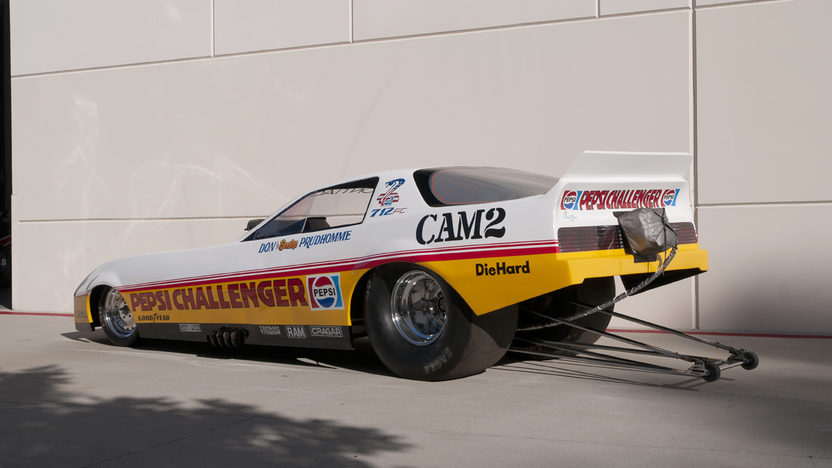 1982 Pontiac Trans Am Funny Car Don Prudhomme's Pepsi Challenger presented as lot S182 at Indianapolis, IN 2012 - image3