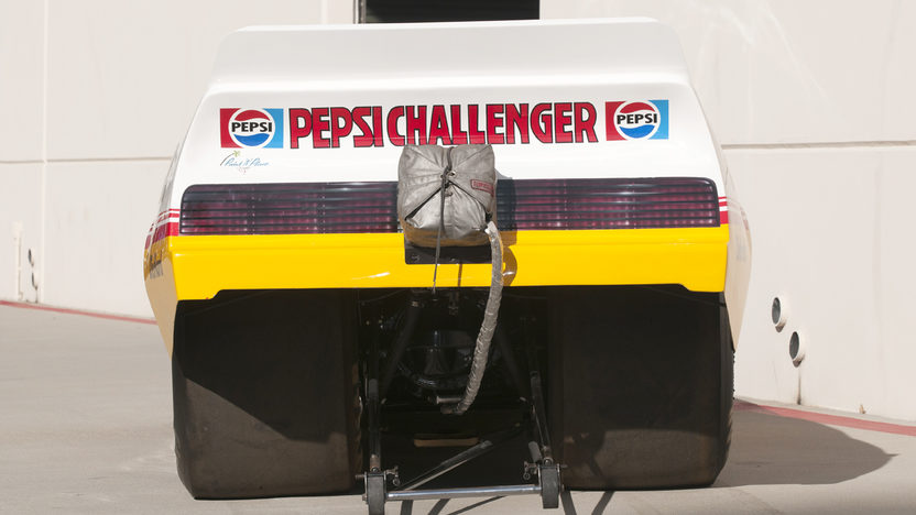 1982 Pontiac Trans Am Funny Car Don Prudhomme's Pepsi Challenger presented as lot S182 at Indianapolis, IN 2012 - image4