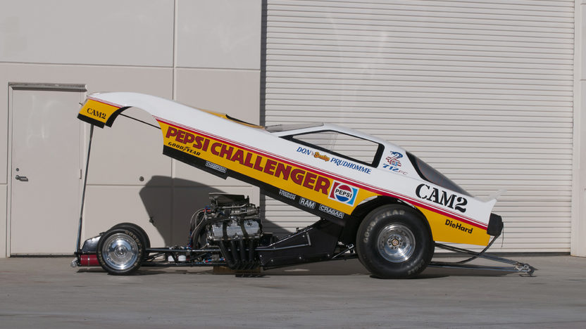 1982 Pontiac Trans Am Funny Car Don Prudhomme's Pepsi Challenger presented as lot S182 at Indianapolis, IN 2012 - image9