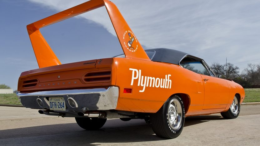 1970 Plymouth Hemi Superbird 426/425 HP, Automatic presented as lot S238 at Indianapolis, IN 2012 - image2