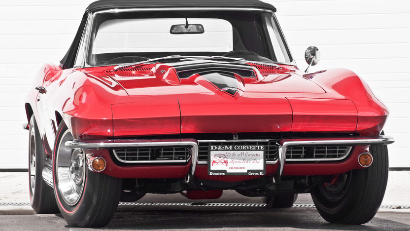 1967 Chevrolet Corvette Convertible 427/435 HP, 4-Speed presented as lot S281 at Indianapolis, IN 2012 - image10