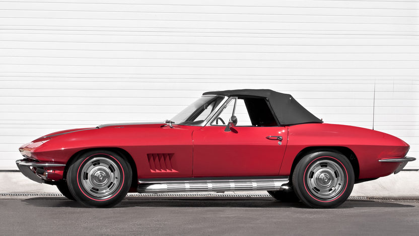 1967 Chevrolet Corvette Convertible 427/435 HP, 4-Speed presented as lot S281 at Indianapolis, IN 2012 - image9
