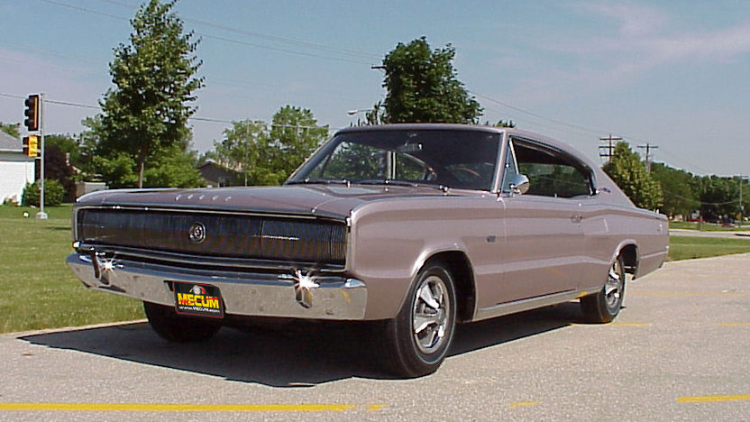 1966 Dodge Hemi Charger 426 CI, Automatic presented as lot F315.1 at Indianapolis, IN 2012 - image8