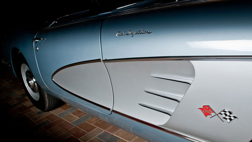 1958 Chevrolet Corvette Big Brake Fuelie 283/290 HP, 4-Speed presented as lot S218 at Indianapolis, IN 2012 - image4