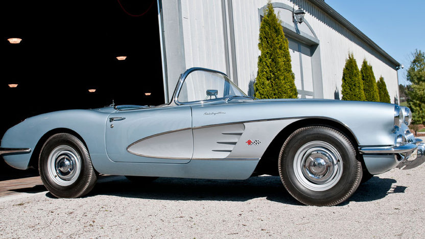1958 Chevrolet Corvette Big Brake Fuelie 283/290 HP, 4-Speed presented as lot S218 at Indianapolis, IN 2012 - image8