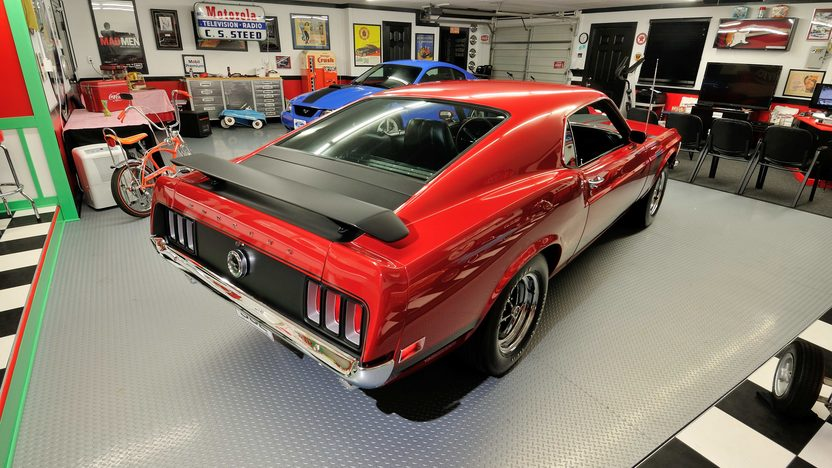 1970 Ford Mustang Boss 302 Fastback One Owner Car with 40,630 Miles presented as lot T194 at Indianapolis, IN 2013 - image3