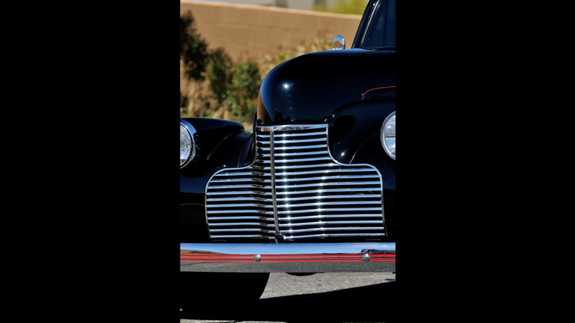 1940 Chevrolet Master Deluxe Hot Rod 350 CI, Perfect Sheet Metal presented as lot T199 at Indianapolis, IN 2013 - image9