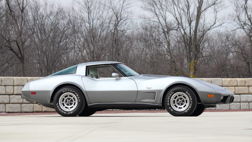 1978 Chevrolet Corvette Silver Anniversary L82, Less Than 25 Miles presented as lot T209 at Indianapolis, IN 2013 - image2